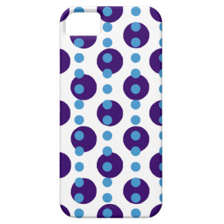 Blue Polka Dots iPhone SE/5/5s Case
