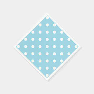 Blue Polka Dots Napkin