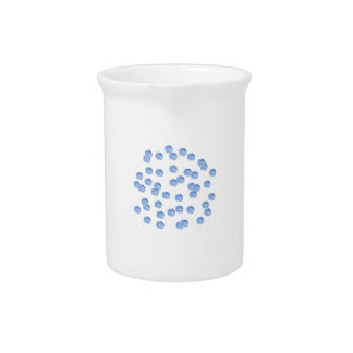 Blue Polka Dots Pitcher