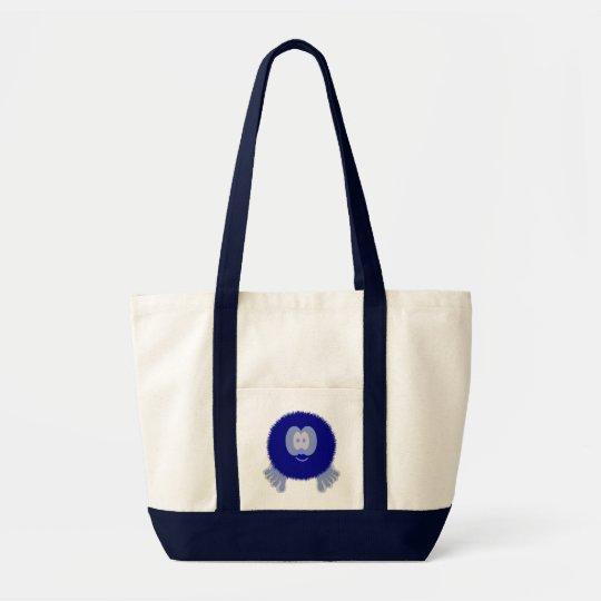 Blue Pom Pom Pal Bag