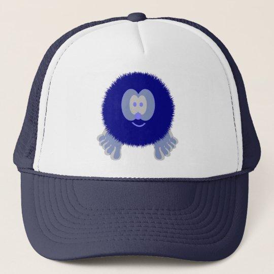 Blue Pom Pom Pal Hat