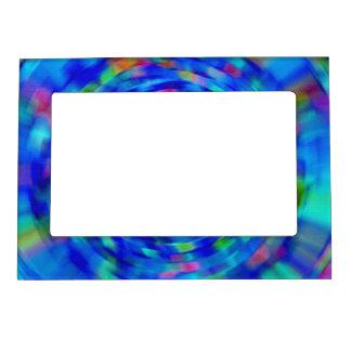 Blue Pond Ripple Magnetic Photo Frame