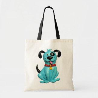 Blue Pooch Bag