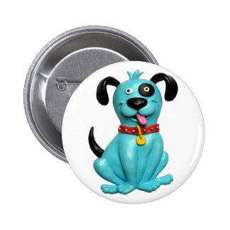 Blue Pooch Button