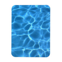 Blue Pool Pattern Magnet