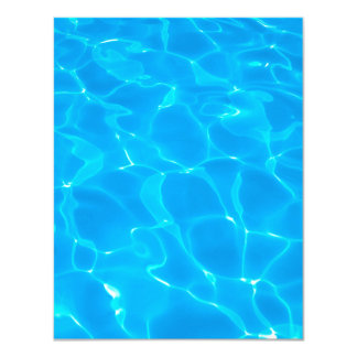Blue Pool Water Card