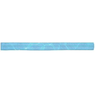 Blue Pool Water Ribbon Hair Tie