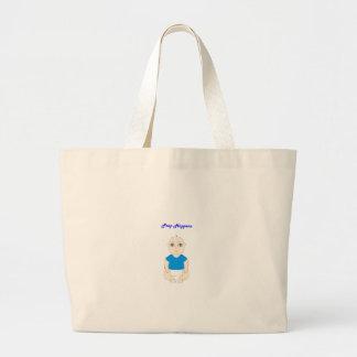 Blue Poop Baby Bags