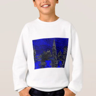 Blue Pop Art New York City Sweatshirt