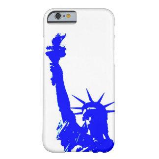 Blue Pop Art Statue of Liberty iPhone 6 Case