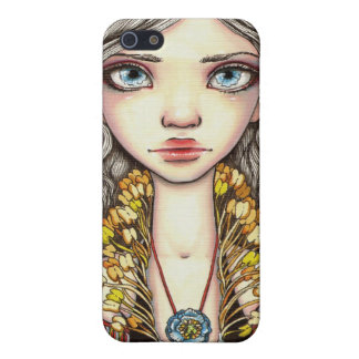 Blue Poppy Cover For iPhone 5