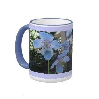 Blue Poppy Mug mug