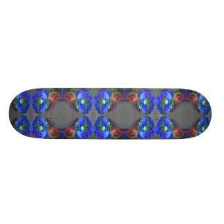 Blue Poppy Skateboard