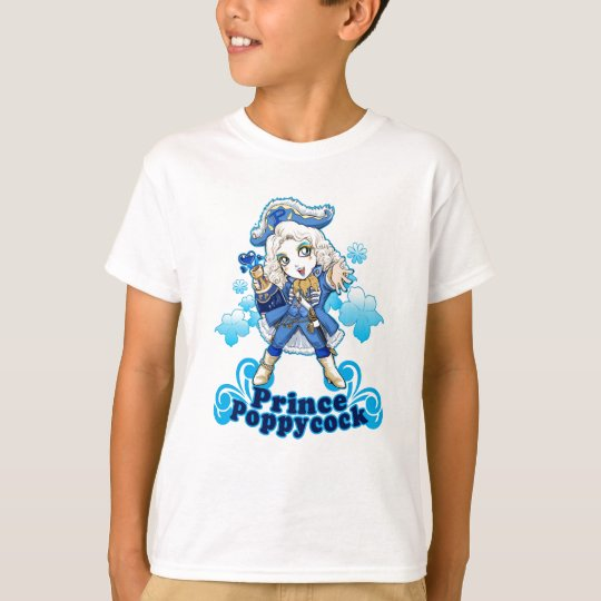 Blue Poppycock T-Shirt