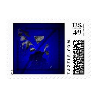 Blue Postage