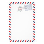 Blue Postal Service Collection Stationery