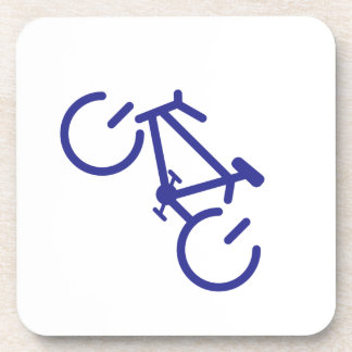 Blue Power Bike Coaster
