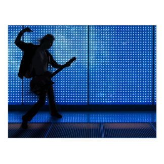 BLUE POWER CHORD- Postcard