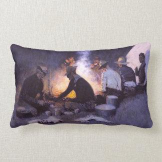 Blue Prairie Lumbar Pillow