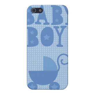Blue pram BABY BOY from wicked greetings Cover For iPhone SE/5/5s