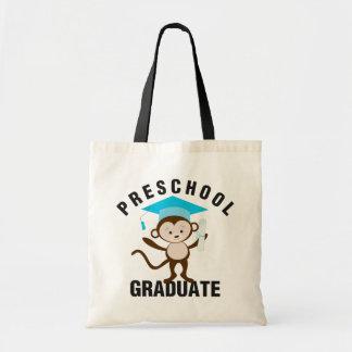 Blue Preschool Graduate Tote Bag