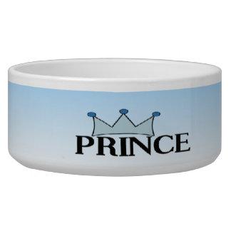 Blue Prince Crown Dog Bowl