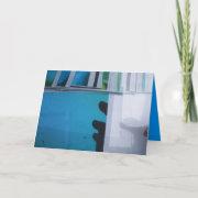Blue print 01 card