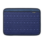 Blue Print Laptop Sleeve Macbook Sleeves