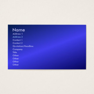 Blue Profile Card