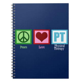 Blue PT Spiral Notebook