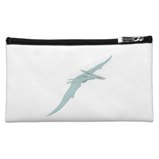 Blue Pterodactyl Dinosaur 4 Cosmetic Bag