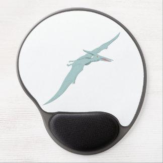Blue Pterodactyl Dinosaur 4 Gel Mouse Pad