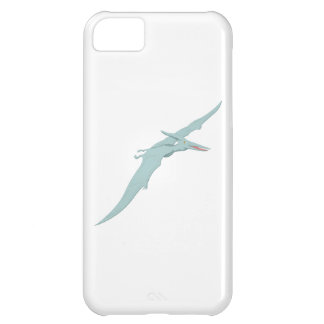 Blue Pterodactyl Dinosaur 4 iPhone 5C Case