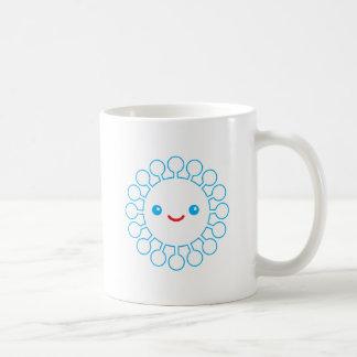 Blue Puffball Mug
