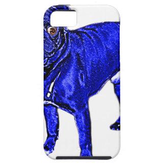Blue pug iPhone SE/5/5s case