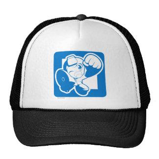 Blue Punch Hat