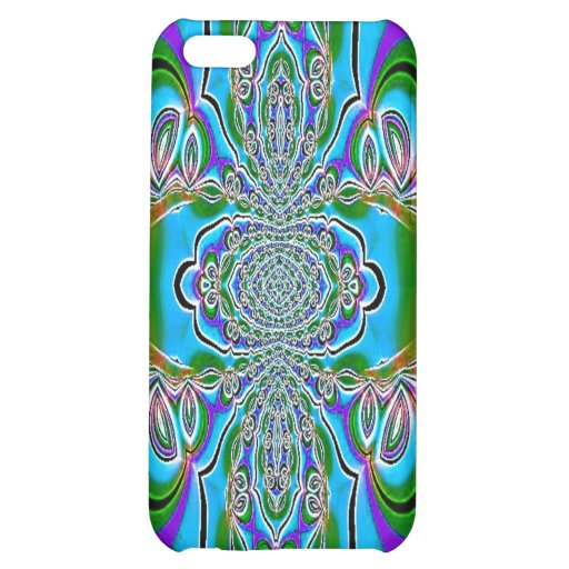 Blue Purple Abstract Speck Case Cover For iPhone 5C