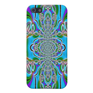 Blue Purple Abstract Speck Case iPhone 5 Case