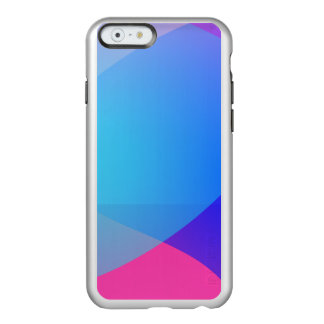 Blue Purple and Pink Minimalism Lake Incipio Feather Shine iPhone 6 Case