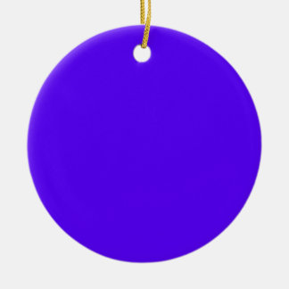 Blue-Purple Color Only Custom Design Products Christmas Tree Ornaments