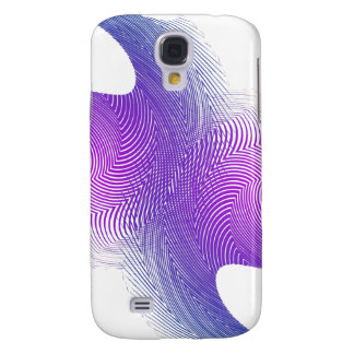 Blue & Purple Curved Lines: iPhone 3G Case