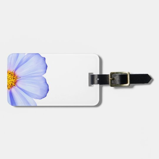 Blue Purple Daisy Cosmos Daisies Template Luggage Tag