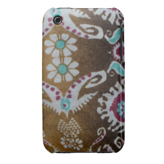 Blue & Purple Flower iPhone 3G/3Gs, Barely There iPhone 3 Cases