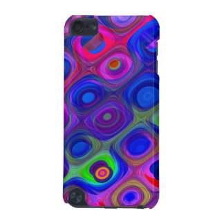 Blue Purple Funky iPod Touch (5th Generation) Case