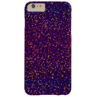 Blue Purple Glitter pattern iPhone 6 Plus Case