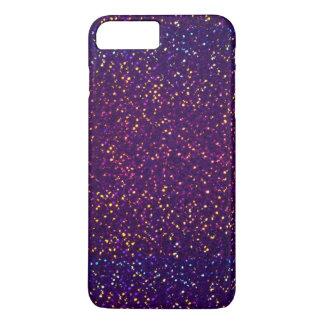 Blue Purple Glitter pattern iPhone 7 Plus Case