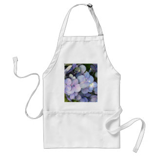 Blue Purple Hydrangea Apron