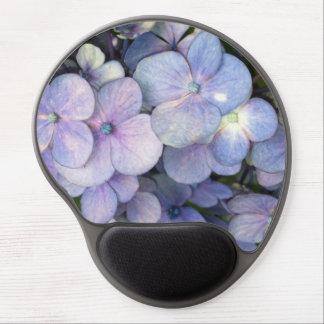 Blue Purple Hydrangea Gel Mousepad