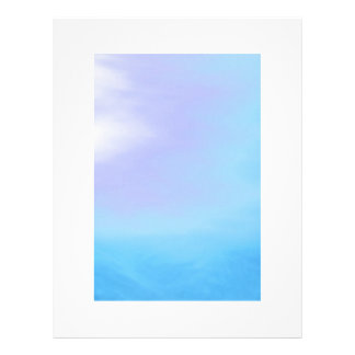 Blue Purple Letterhead Design