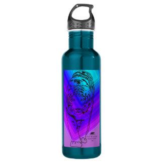 Blue/Purple Lilly Water Bottle